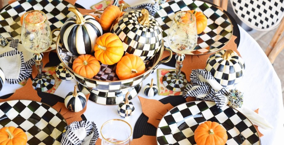 Fall Tablescape Ideas With MacKenzie-Childs | The Darling Petite Diva