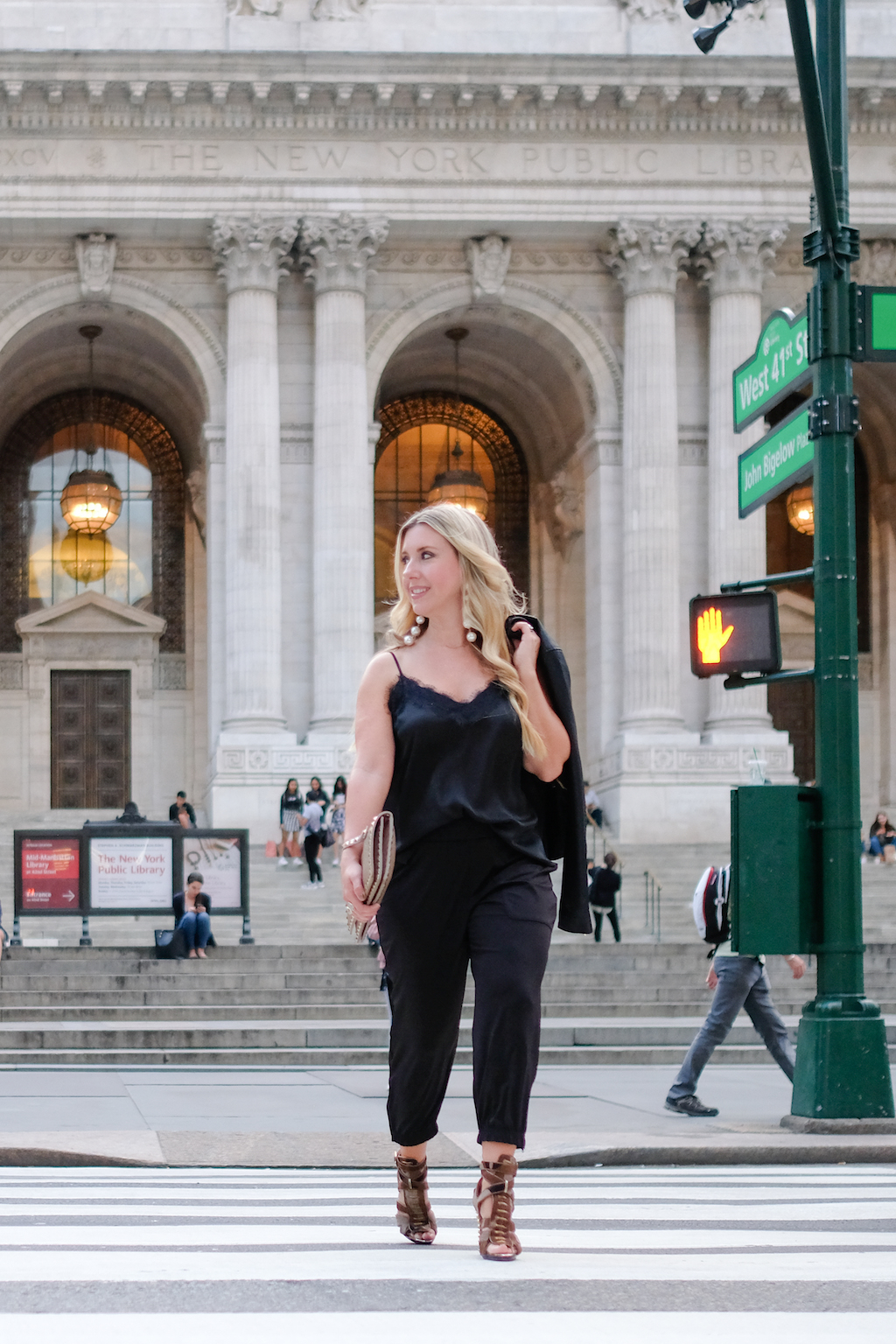 Jogger Pants | The Darling Petite Diva | New York Fashion Week