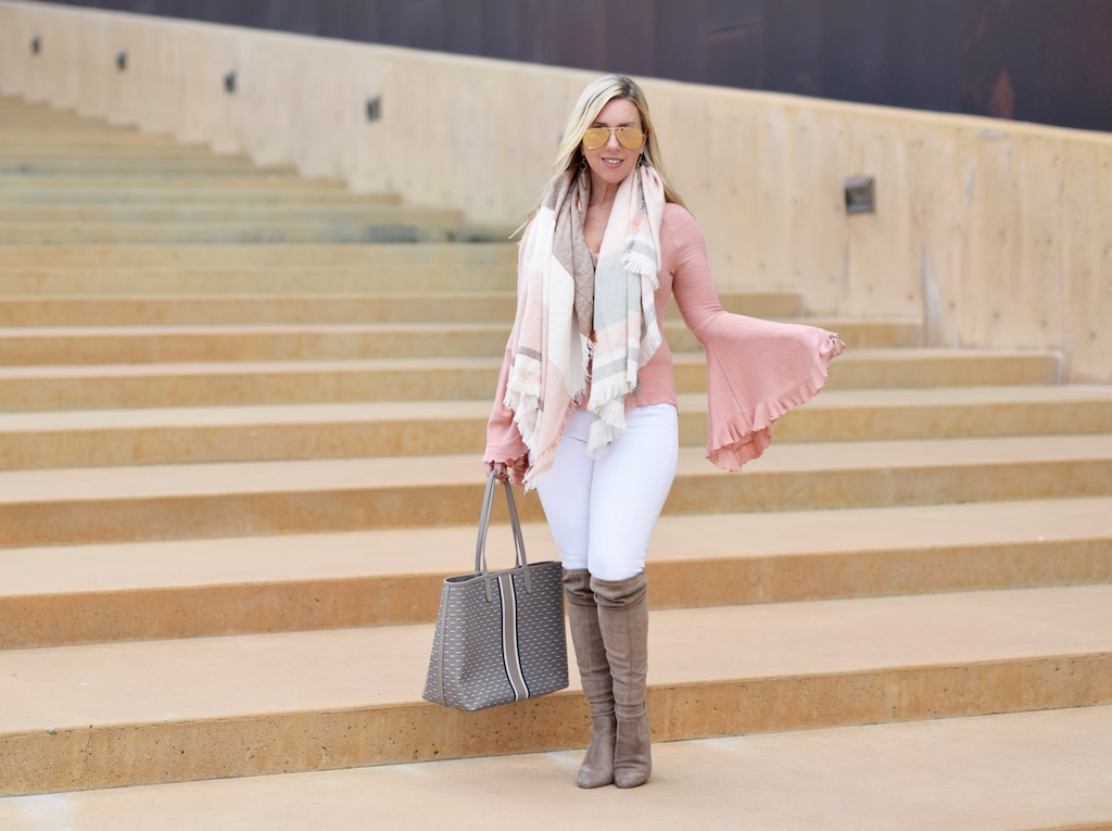 Dramatic Pastel Bell Sleeves | The Darling Petite Diva