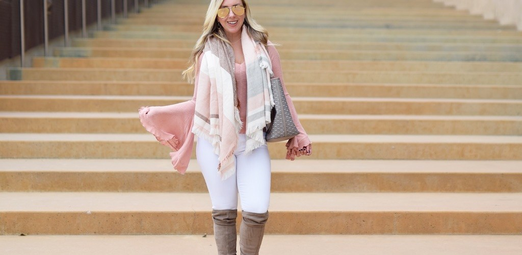 Dramatic Pastel Bell Sleeves