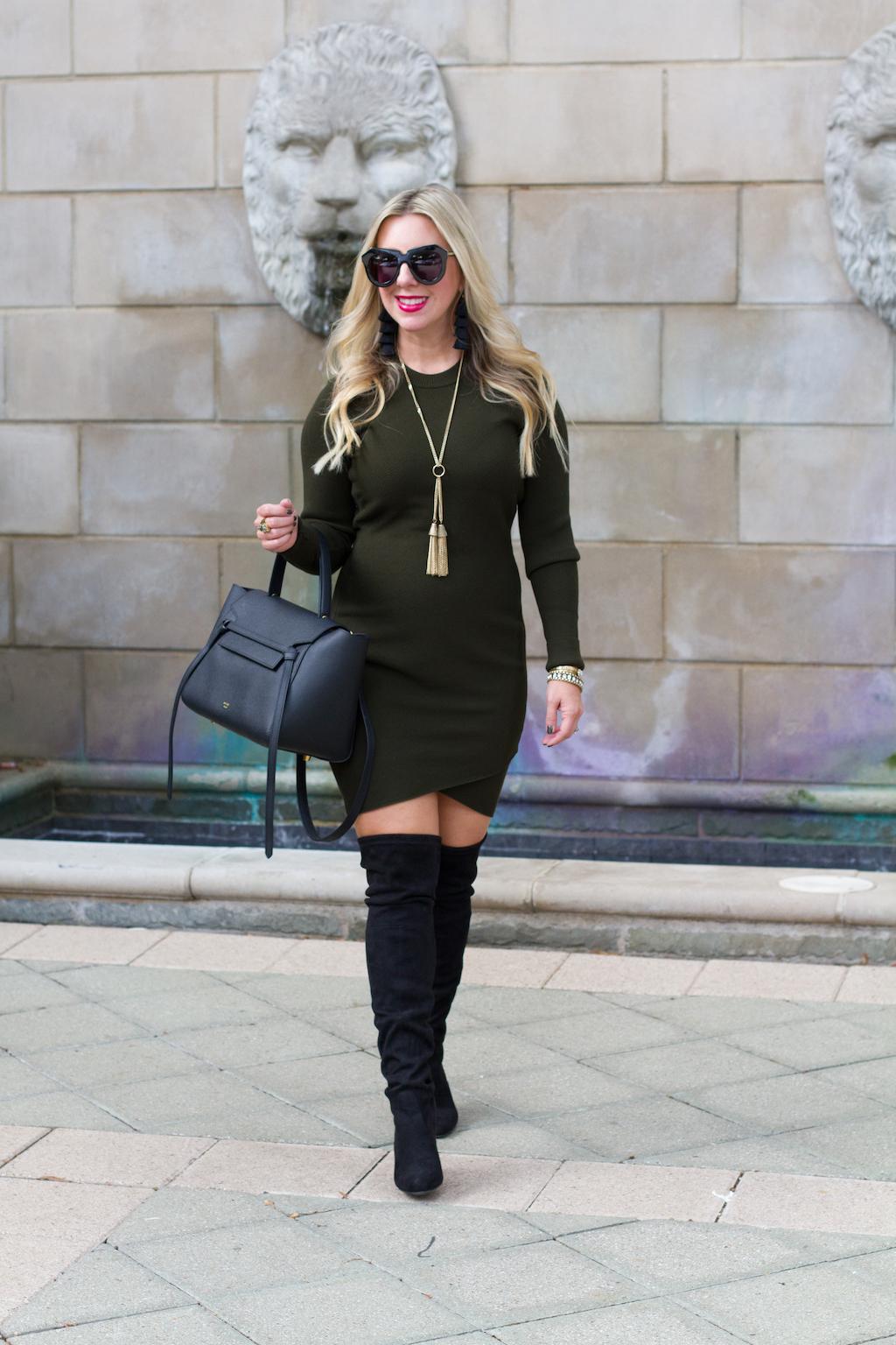 Sweater Dress | The Darling Petite Diva