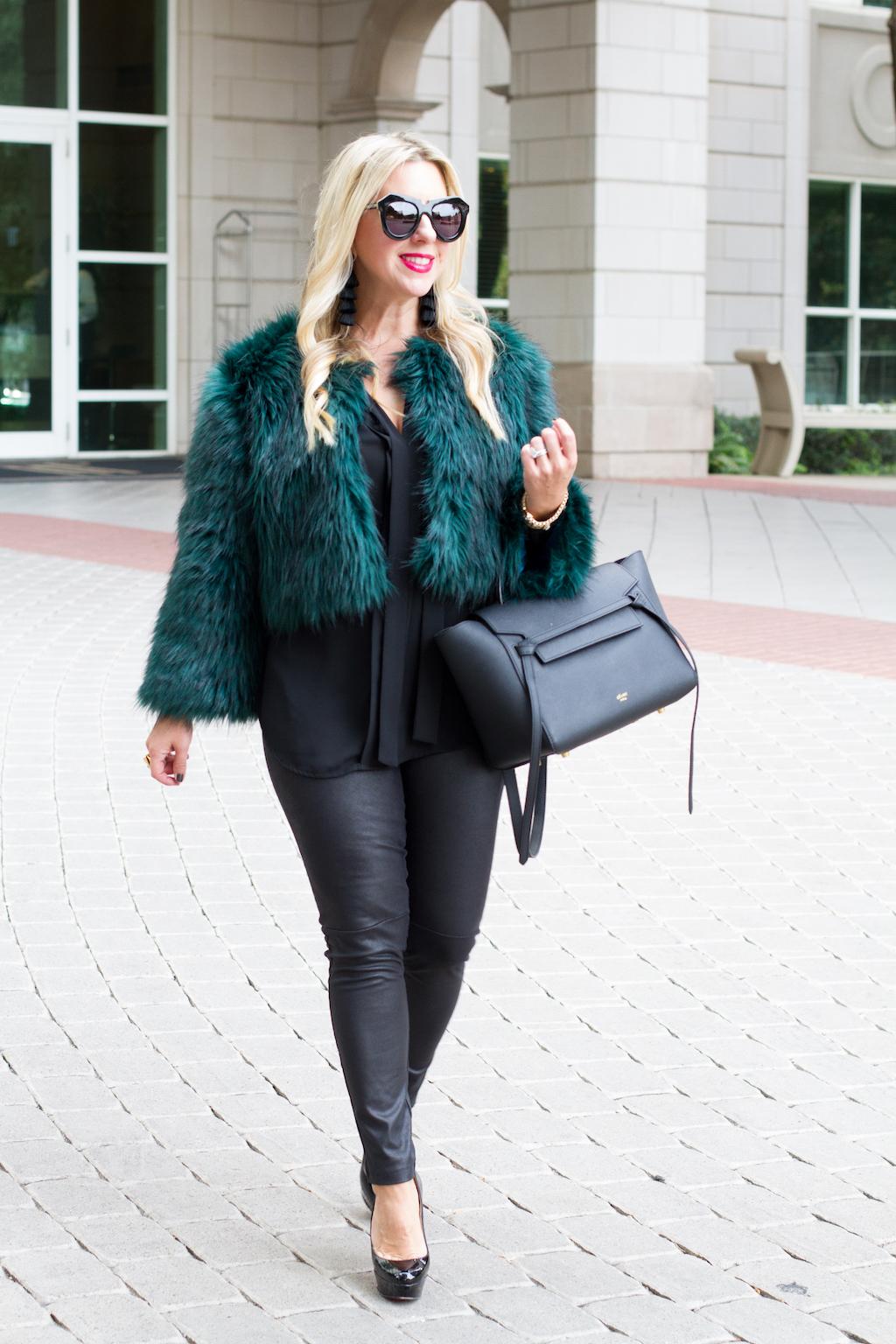 5 Faux Fur Coats For The Winter | The Darling Petite Diva | Winter Coat