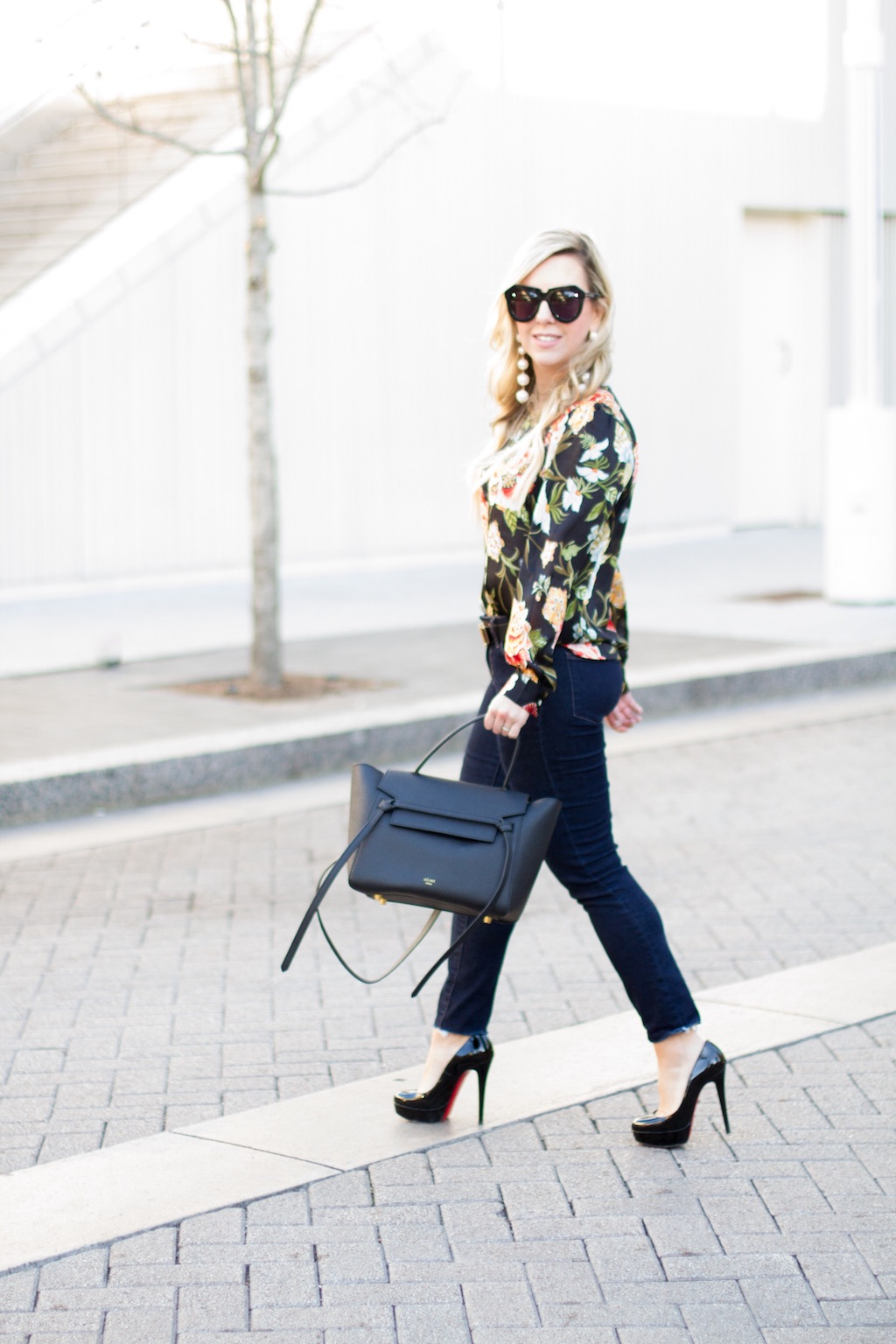 Floral Poppy Bloom Blouse | The Darling Petite Diva