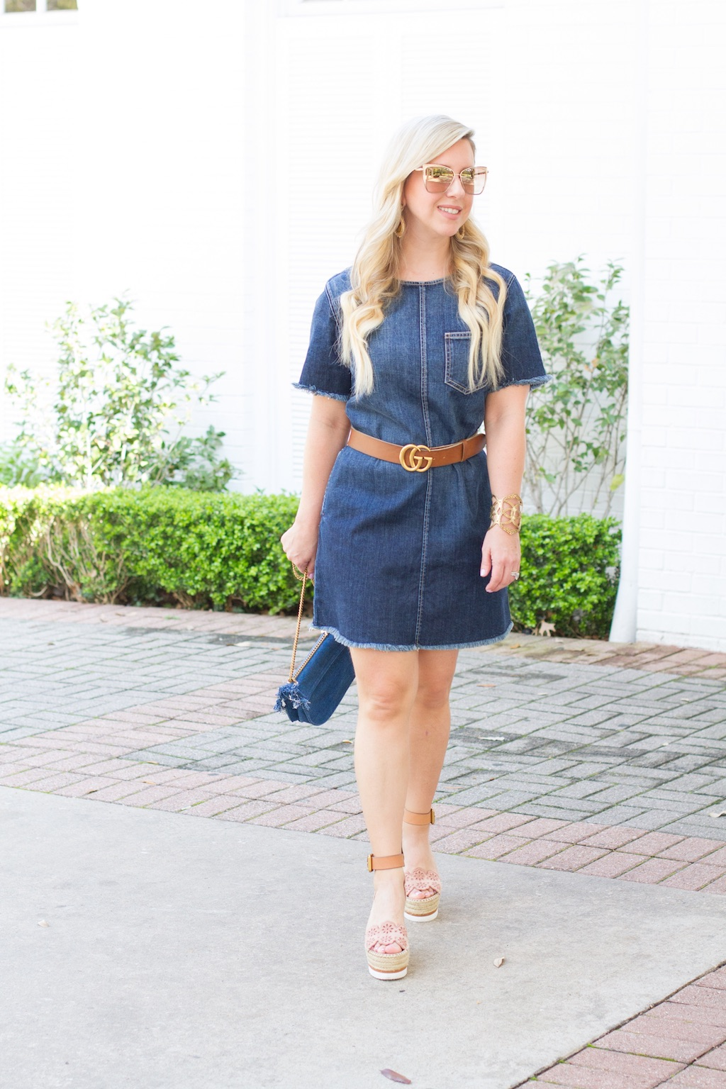 Denim Shift Dress | The Darling Petite Diva