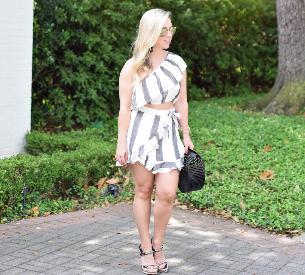 2 Piece Skirt Set | Summer Look | The Darling Petite Diva