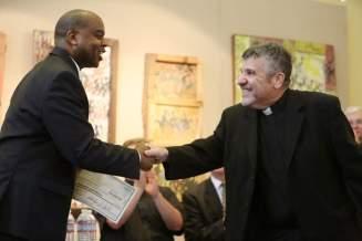 pastor handshake