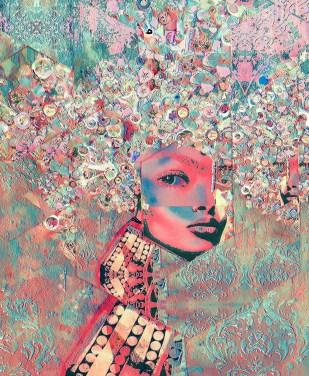 Inner Beauty 24 x 20 x 1 in Aluminum Print Subject Matter: Identity 2016