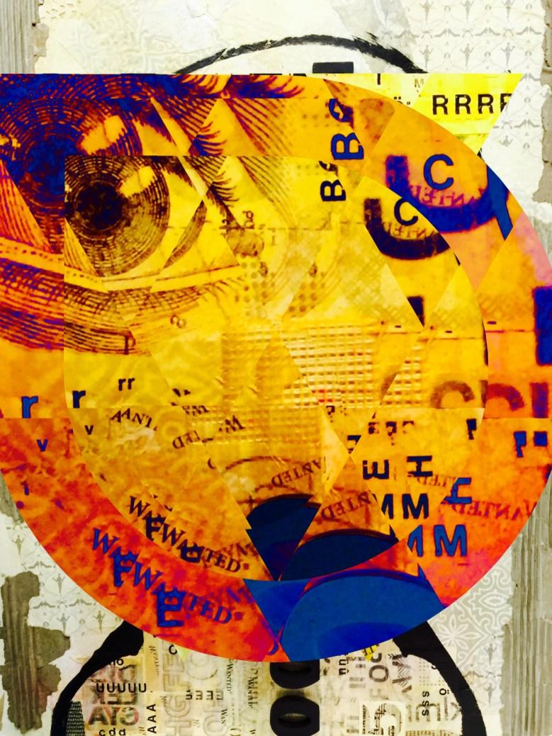 "Forgetful 20""x16"" Aluminum Print Subject Matter: Dyslexia Series 2016"