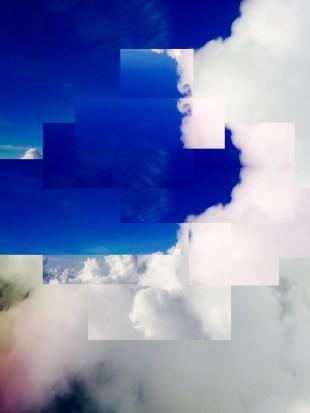 Pixel Sky 1 Photo Print, 8X10, Kodak Endura Metallic