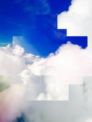 Pixel Sky 3 Photo Print, 8X10, Kodak Endura Metallic