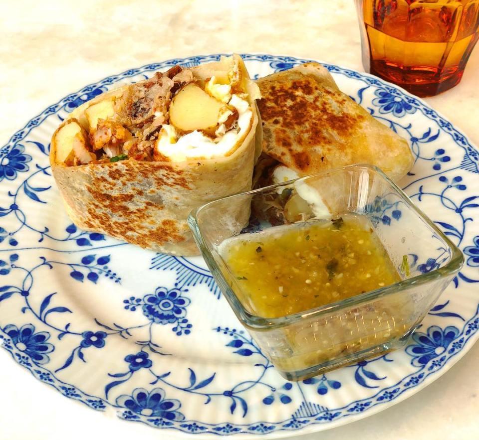 The best breakfast burritos in LA - @thedashanddine
