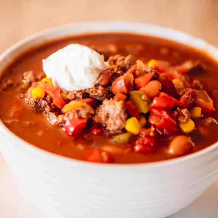 Sweet & Spicy Chili with Brown Sugar