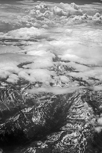 rocky mountains the lonely mountain bw-1 small