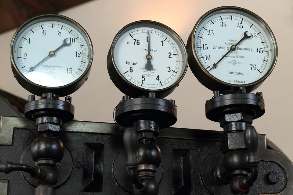 three gauges