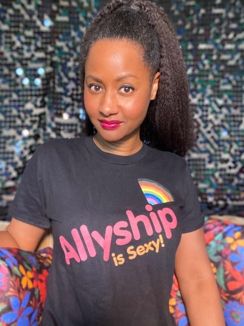 Allyship is Sexy tshirt