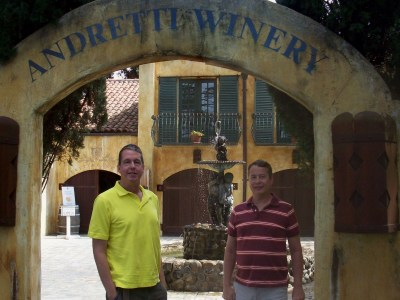 Jeff & Dave - Andretti Winery