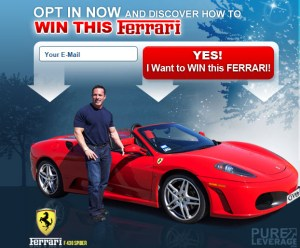 Pure Leverage Ferrari Contest