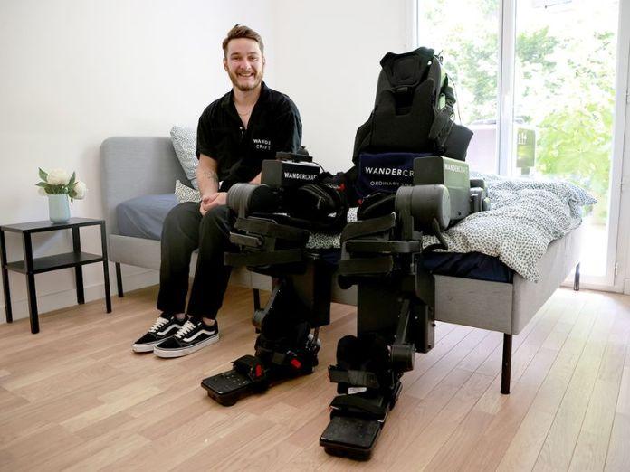 voice-controlled exoskeleton