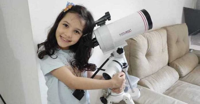 world's youngest astronomer