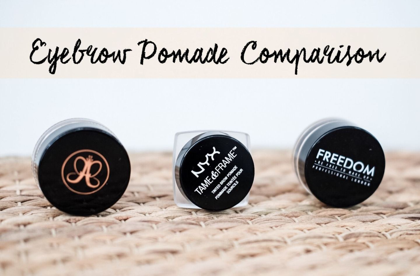 Eyebrow Pomade Comparison