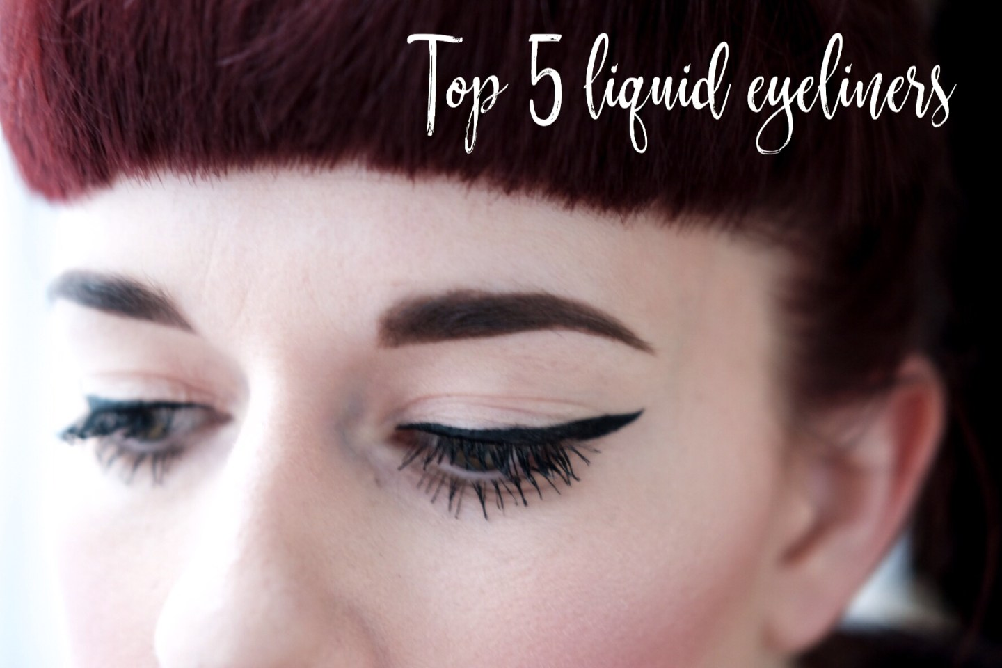 Top Five Easy Liquid Eyeliners