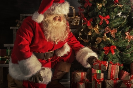Santa and the Joy of Giving