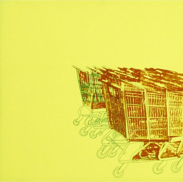 Title: Carts By: Annie Lee Zimerle Medium: Screenprint on birch Size: 12in x 12in