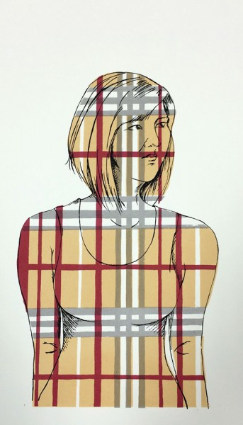 Title: Tourist By: Annie Lee Zimerle  Medium: Screenprint on paper Size: 10in x 16in