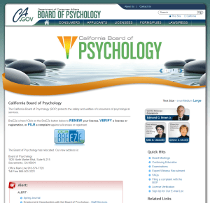 Psych Page
