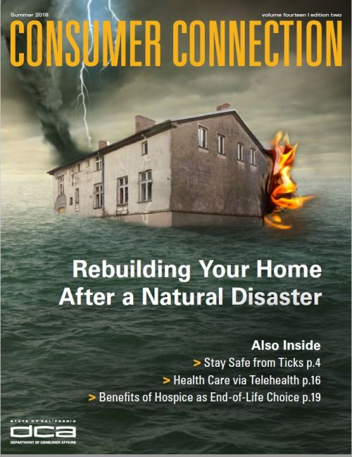 Consumer Connection Summer 2018