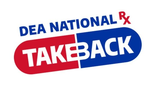 Drug Enforcement Agency National Prescription Drug Takeback logo
