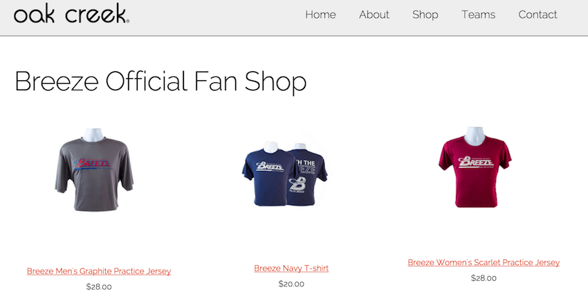 New Online Fan Shop!