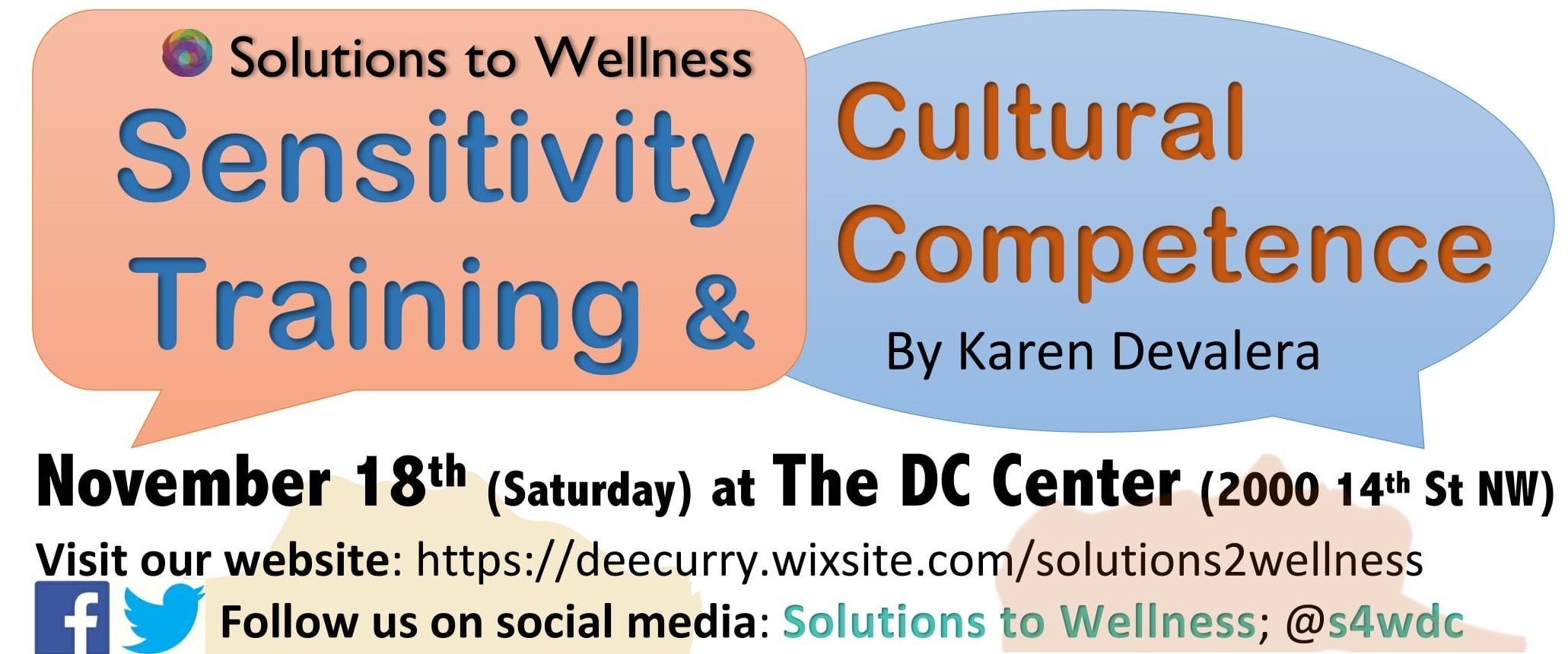 Sensitivity Training Amp Cultural Competence Solutions To Wellness The Dc Center For The