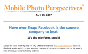 Move over Snap: Facebook is the camera company to beat