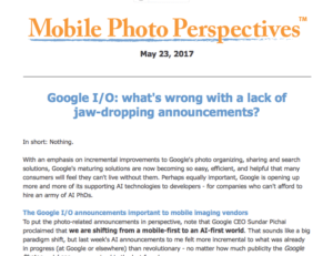 Google I/O: What's wrong with a lack of jaw-dropping announcements?
