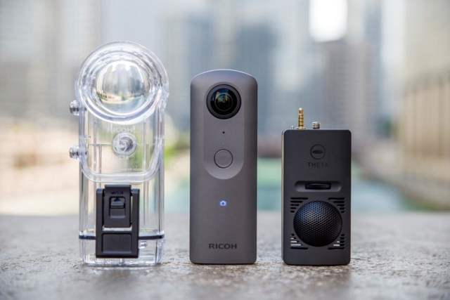 Ricoh Announces Theta V 360-degree 4k Video Camera With Surround-Sound Audio For A Truly Immersive Experience