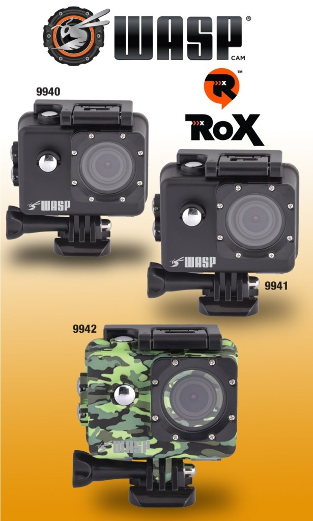 WASPcam Launches ROX Series Line of Highly Affordable Action Cams