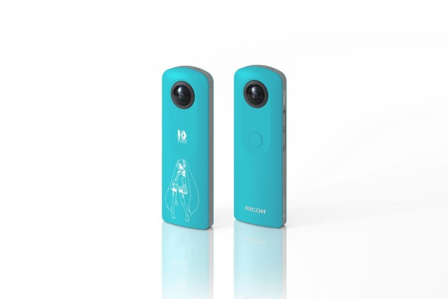 Ricoh Announces Availability Of Ricoh Theta SC Hatsune Miku 360-Degree Camera And App