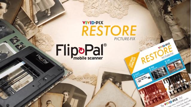 Vivid-Pix, Flip-Pal partner to preserve photo memories