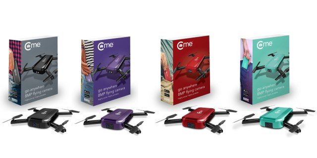 New C-me Folding Pocket Flying Social Camera Redefines In-Flight Entertainment