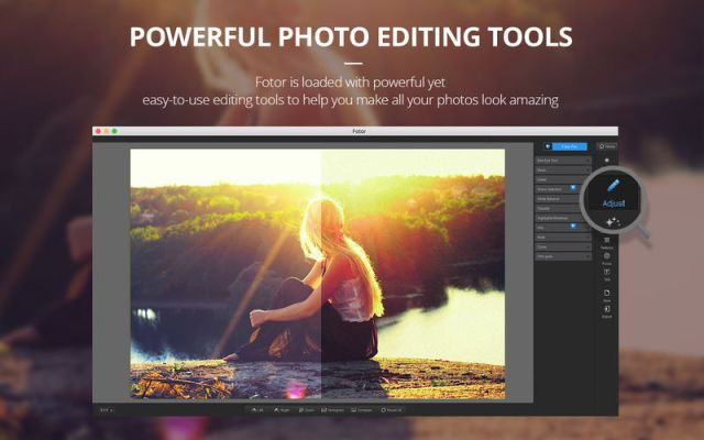 Fotor Photo Editor Offers Easy Yet Powerful Photo Editing for Mac