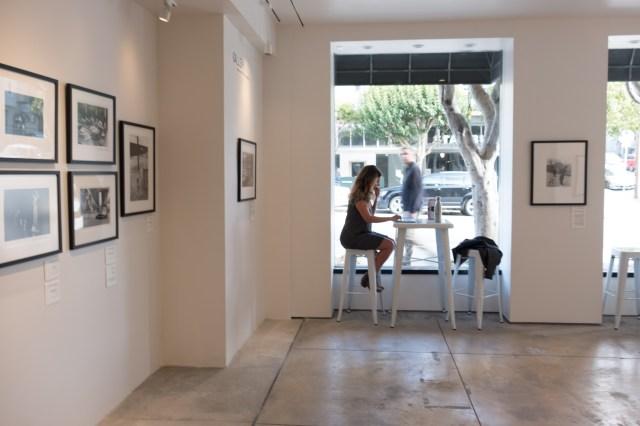 Customer relaxing in Neomodern