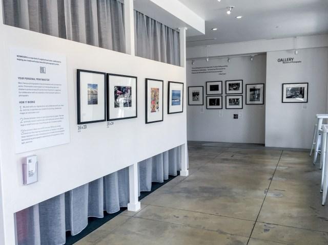 Neomodern gallery space