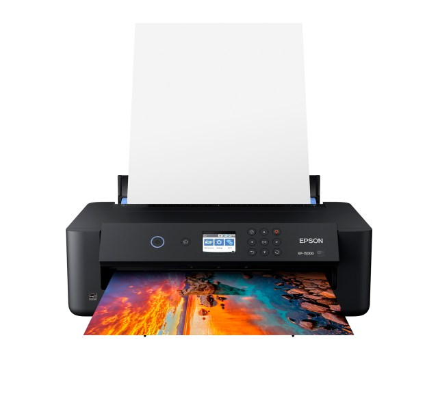 Epson Introduces New Expression Photo HD XP-15000 Wide-Format Printer for Brilliant Professional-Quality Photographs at Home