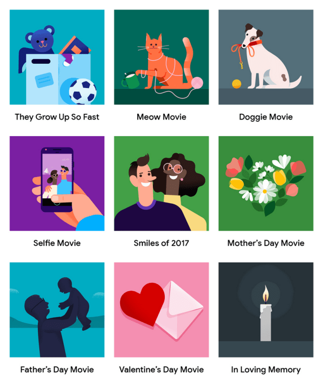 Google Photos adds create-your-own themed movies