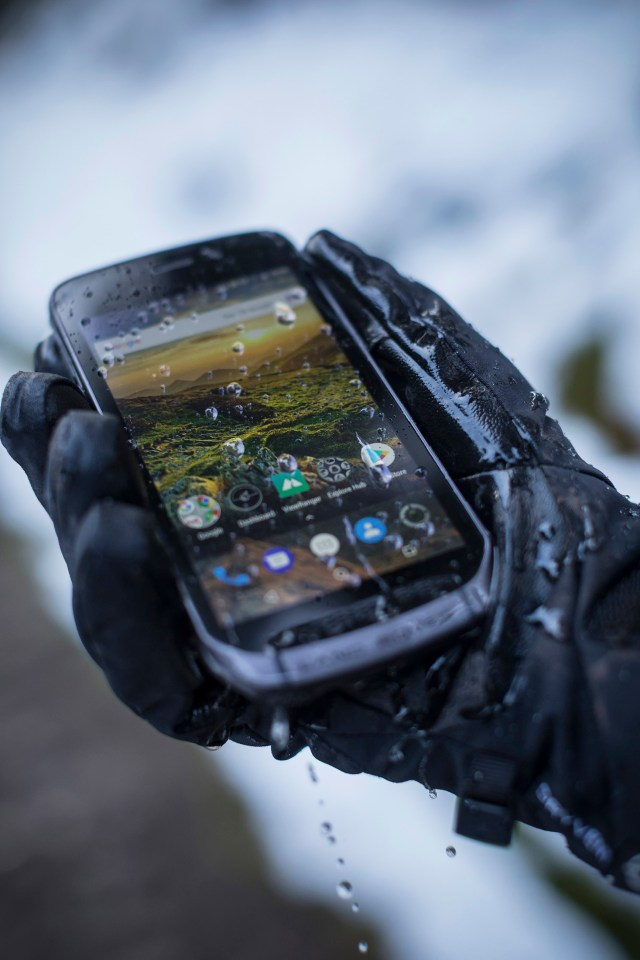 Introducing Land Rover Explore, the outdoor phone