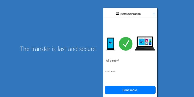 Microsoft Photos Companion app makes mobile to PC transfer easy