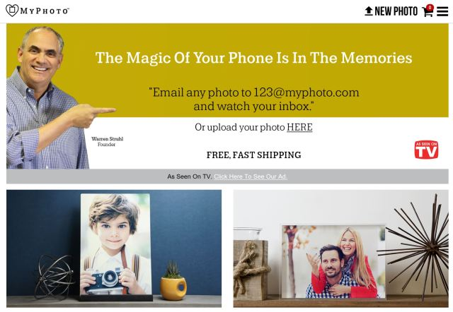"Retail concept ""Photo & Go"" rebrands to ""MyPhoto.com"""
