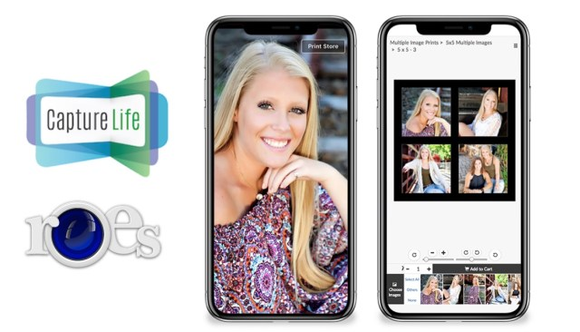 CaptureLife integrates with ROES for pro labs