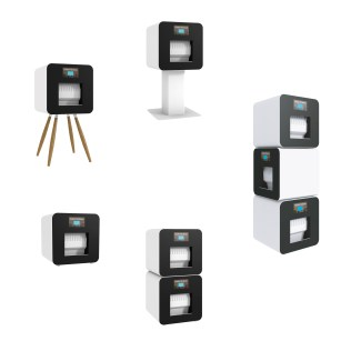 The Cube is available in several configurations